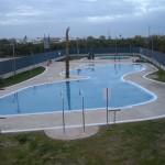 Cobertor de protección de piscina pública forma irregular - Iber Coverpool