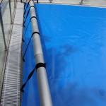Cobertor solar térmico de piscina familiar cuadrado - Iber Coverpool