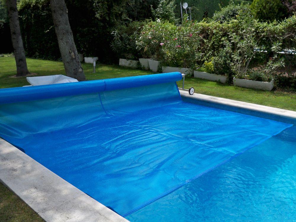 Cobertor solar t rmico iber coverpool for Cobertor de piscina automatico