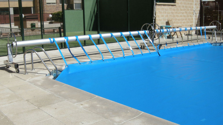 Iber Coverpool: Enrollador para cobertor de piscinas Forte