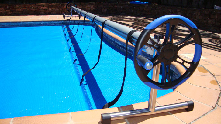 Iber Coverpool: Enrollador para cobertor de piscinas Plus