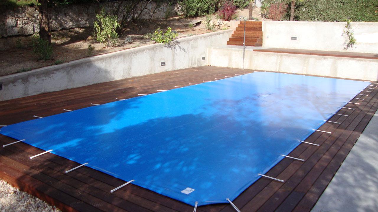 Cobertor para piscina de protecci n iber coverpool for Proteccion de piscinas