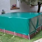 Iber Coverpool - Cobertor para piscinas o depósito sobre suelo