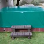 Cobertor para piscinas madera - Iber Coverpool