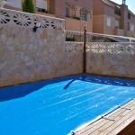 Cobertor para piscinas en tarima- Iber Coverpool