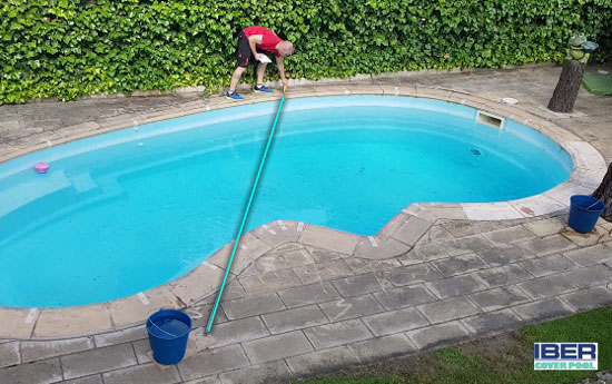 Iber Coverpool: Instrucciones para la medicion A/B de una piscina